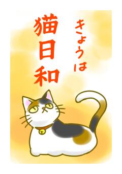 きょうは猫日和