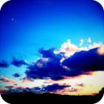 君と見る楽園の夕暮れ