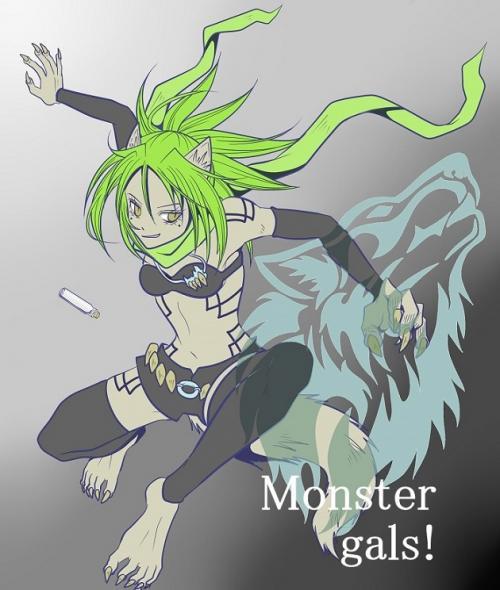 Monster gals!