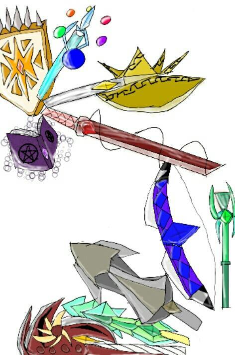 伝説の宝具達が擬人化してくるので最強チート能力所持者の俺の活躍する場が無くなっている気がする